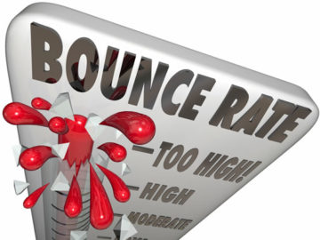 "Five ""Tricks"" to lower your Bounce Rate."