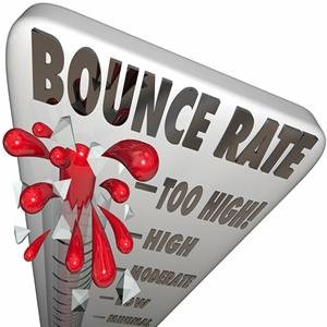 """Five Home Page """"Tricks"""" to lower your Bounce Rate."""