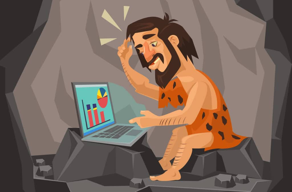 Is your small business website becoming a DINOSAUR?