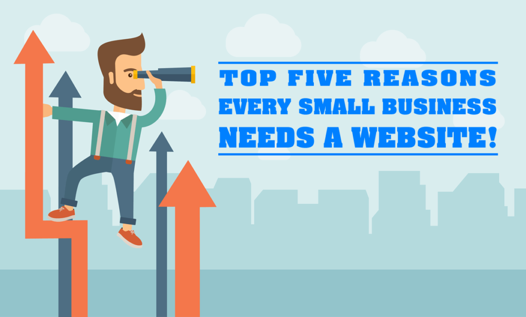 Top five reasons every small business needs a website