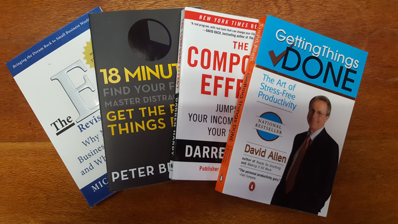 Key Learnings from my Four Favourite Business Books