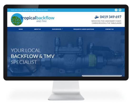 Tropical Backflow and TMV